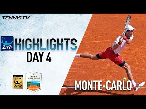 Highlights: Djokovic Makes Explosive Start In Monte-Carlo, Nishikori Tops Berdych