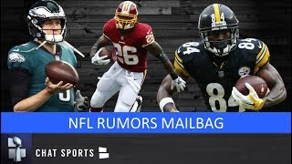 NFL Rumors Mailbag: Nick Foles Trade, Raiders Draft, 49ers Trade Rumors & Adrian Peterson's Future