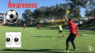 Download Video Soccer drills - Difficult awareness drill !! - Joner 1on1 MP3 3GP MP4