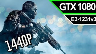 Call of Duty Ghosts ( Multiplayer ): [ GTX 1080 ] Ultra - 1440P