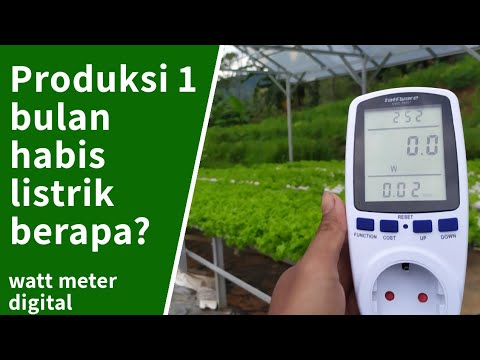 Cara menghitung pembayaran listrik perbulan dan Review Power meter.