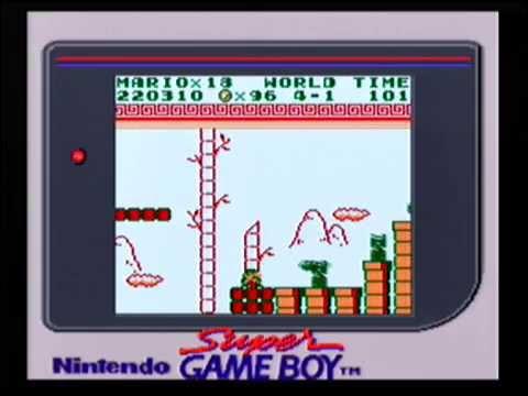 Super Mario Land Super Game Boy Longplay Youtube