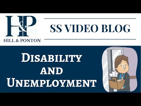 Disability and Unemployment