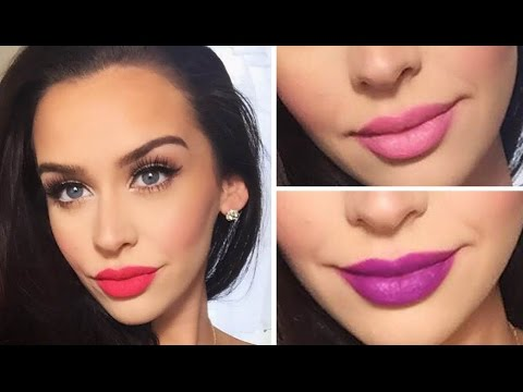 Valentine's Day Makeup Tutorial! 3 Lip Options