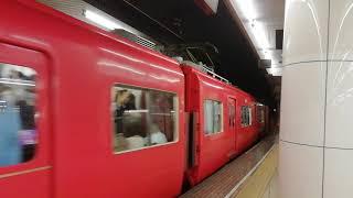 名鉄6800系6816F+6000系6006F準急新可児行名古屋発車