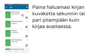 Näin siirrät kirjan ladattavaksi Pratsam Reader -sovelluksella Android-laitteella