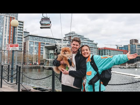 Riding The Emirates Cable Car In London Vlog!