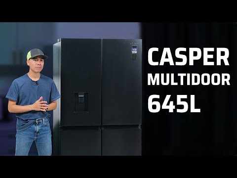 Trải nghiệm tủ lạnh Casper Multi Door: đẹp và công nghệ