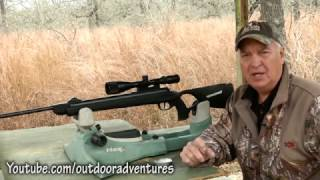 Keith Warren with Diana AR8 air rifle - ethical airgun hunting