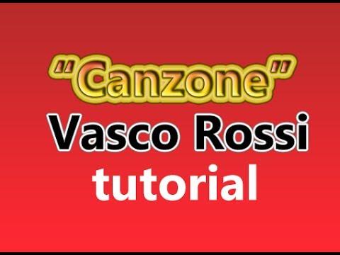 Canzone Vasco Rossi accordi e arrangiamento  #1