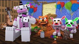 Minecraft FNAF- Funtime Freddy Visits FNAF Daycare- Minecraft Roleplay