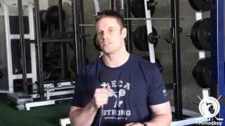 Talking offseason training for hockey players with MECA's David Lawrence