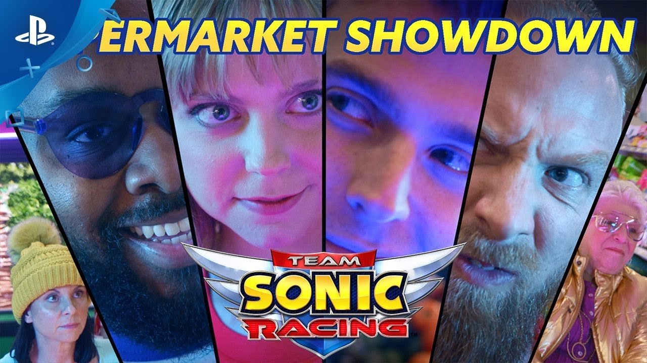 Team Sonic Racing - Live Action Trailer | PS4
