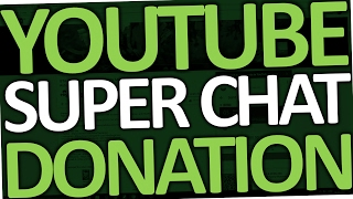 How To Super Chat On YouTube (Donate Money On YouTube)