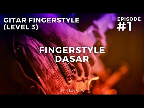 Belajar Gitar Fingerstyle - Twinkle Twinkle (dasar)