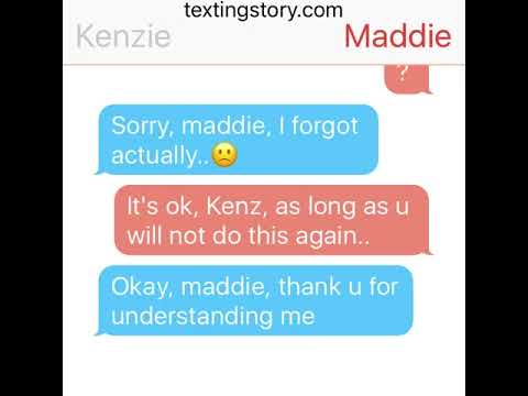 Maddie and Jacob texting story (part 1)