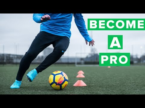 Can you become a professional football player? 100 days to a