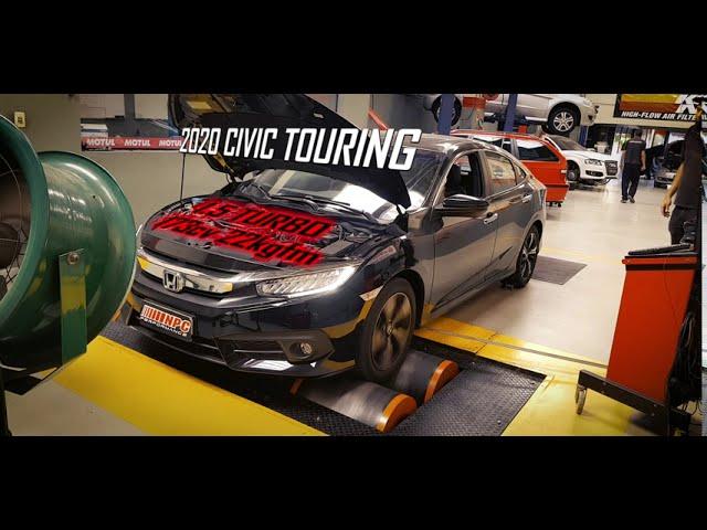CIVIC 1.5 TURBO - Quanto de potência com RaceChip? | NPC Performance