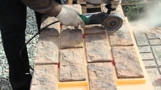 Монтаж цокольных термопанелей Ермак. Видео 4(На видео показан процесс монтажа цокольных термопанелей