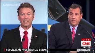 Rand Paul educates GOP candidates on marijuana CNN Debate #GOPDebate