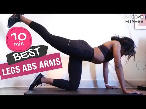 THE PERFECT BIKINI SCULPT WORKOUT | Legs, Abs & Arms workout - Home Workout