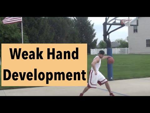 Off Hand Basketball Work(2 day challenge)