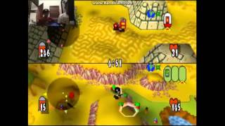 Bermain game nostalgia TEAM BUDDIES PS 1 di laptop