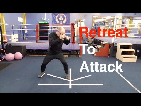 Boxing Footwork Drill - Retreat to Attack
