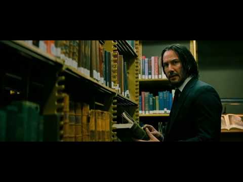 John Wick 3 Library Fight Scene + Review And Rating