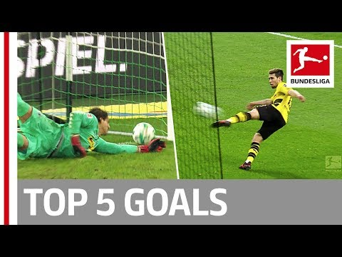 Vidal, Götze, Keita and More  - Top 5 Goals on Matchday 13