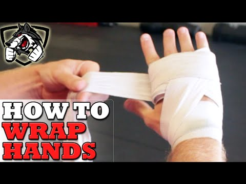 How To Wrap Hands For Boxing Step By Step Youtube