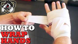 Wie Wickeln Sie die Hände für das Boxen - Schritt für Schritt!