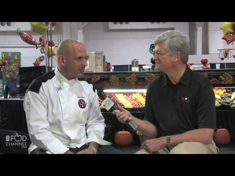 Scott Leibfried, Sous Chef for Hell's Kitchen - YouTube