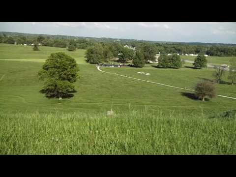 Monks Mound Cahokia Mounds Historic Site Illinois View from top