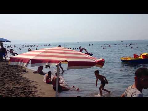 Velipoja Beach, Albania - Velipoje Plazhi HD Video