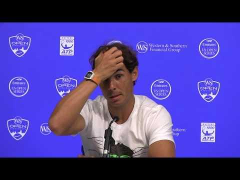 Rafael Nadal from  Cincinnati 2016