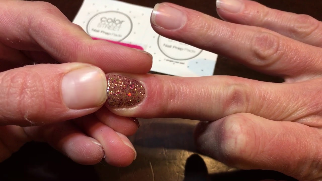 The Easiest Way To Apply Color Street 100 Real Nail Polish Strips Youtube