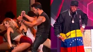 Luis Fonsi y Daddy Yankee Con Despacito y Nicky Jam Arrasaron en los Latin Billboards 2017!