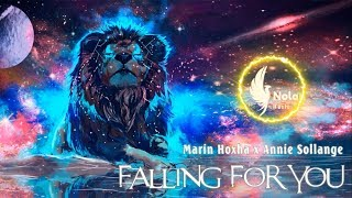Marin Hoxha x Annie Sollange - Falling For You [Lyrics]
