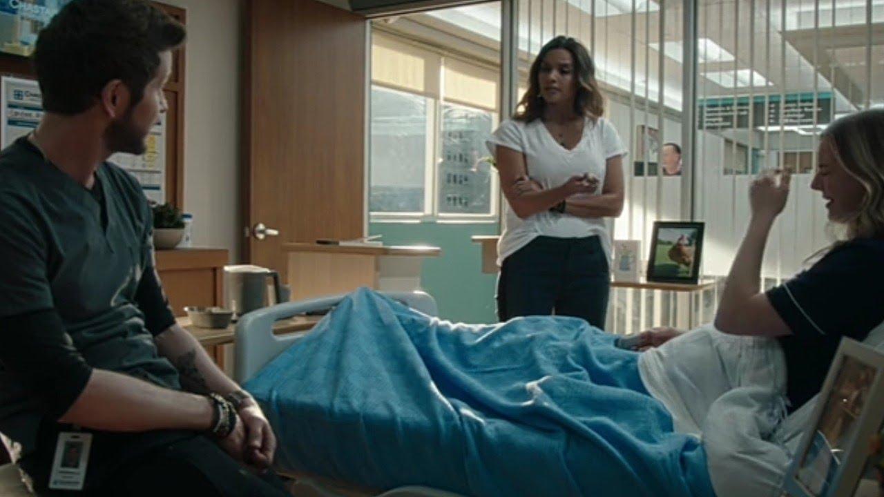 Download Billie , Conrad and nic talk scene - The resident season 4 episode 6
