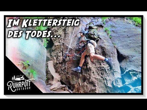 Im Klettersteig des Todes - Ruhrpott Outdoor