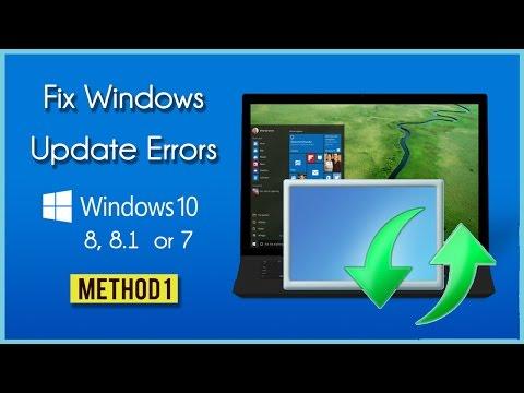 Microsoft Update Error