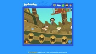 How Do You Jump into the Sea From Your Ship in Poptropica : Poptropica Game Tips