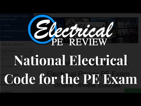 How To Use The National Electrical Code (NEC) To Answer Questions On The Electrical Power PE Exam