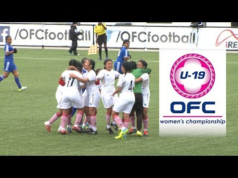 OFC U-19 WOMEN'S CHAMPIONSHIP | Samoa v Tonga Highlights