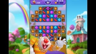 Candy Crush Friends Saga Level 696 (No boosters)