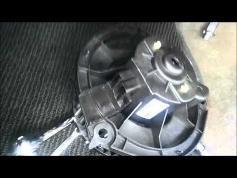 Replace GrandPrix 2005 blower motor and resistor