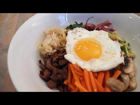 [recette-coréenne]-bibimbap-:-riz-mélangé-avec-des-légumes-/-손님-초대요리로-제격인-비빔밥-레시피