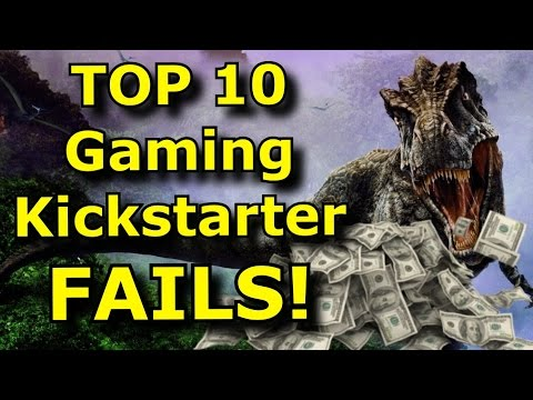 TOP 10 Gaming Kickstarter FAILS!