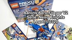 LEGO Aarons Aero-Flieger V2 - Set 70320 (Nexo Knights Review deutsch)